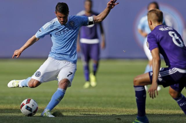 David Villa a terminé deuxième au classement des... (archives Associated Press)