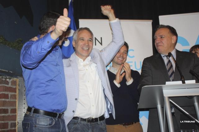 ÉDITORIAL / La victoire décisive de la Coalition avenir Québec (CAQ) lors de... (La Tribune, Yanick Poisson)