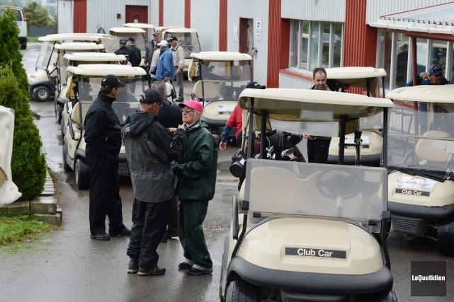 Les dirigeants du Club de golf Port-Alfred souhaitent... (Archives Le Quotidien, Jeannot Lévesque)