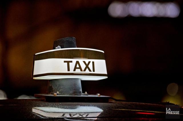 Québec ouvre la porte à une compensation financière aux chauffeurs de taxi ou... (Photo Olivier Jean, Archives La Presse)