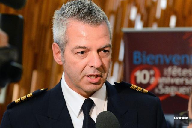 Pierre Girard, inspecteur à l'administration policière de Saguenay.... (Archives Le Quotidien, Jeannot Lévesque)