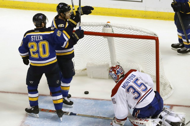 Jaden Schwartz a scellé l'issue de la rencontre... (PHOTO AP)