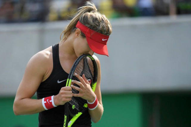 Eugenie Boucharddoit reprendre la compétition le 1er janvier... (PhotoToby Melville, archives Reuters)