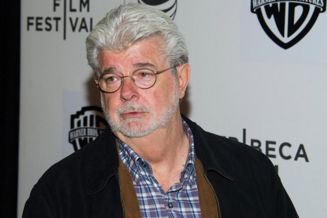 George Lucas... (Photo Charles Sykes, Archives Associated Press)