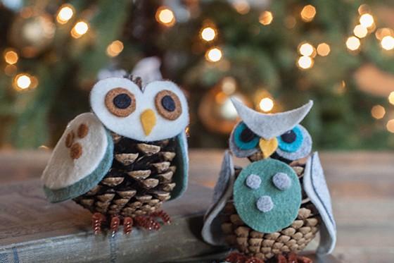 Rien n'ajoute plus de chaleur au sapin de Noël que les ornements fabriqués et...