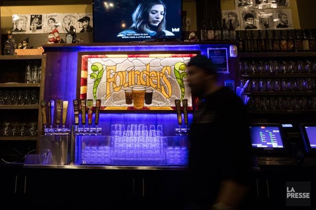 Founders est la brasserie la plus réputée de... (PHOTO IVANOH DEMERS, LA PRESSE)