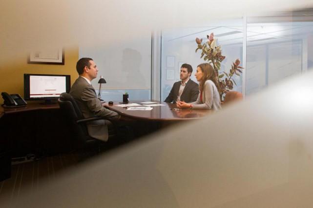 La «culture ouverte» permet aux employés de la... (Photo Ivanoh Demers, La Presse)