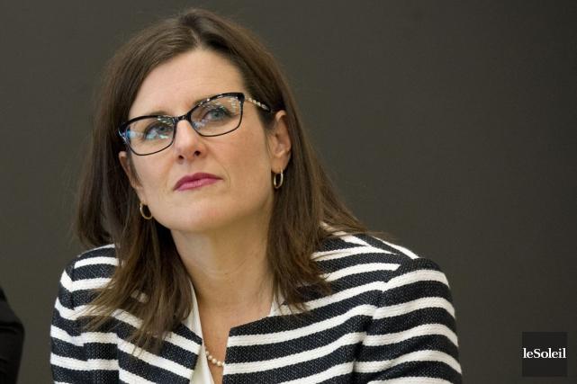 La ministre de la Justice, Stéphanie Vallée.... (Photo archives Le Soleil)