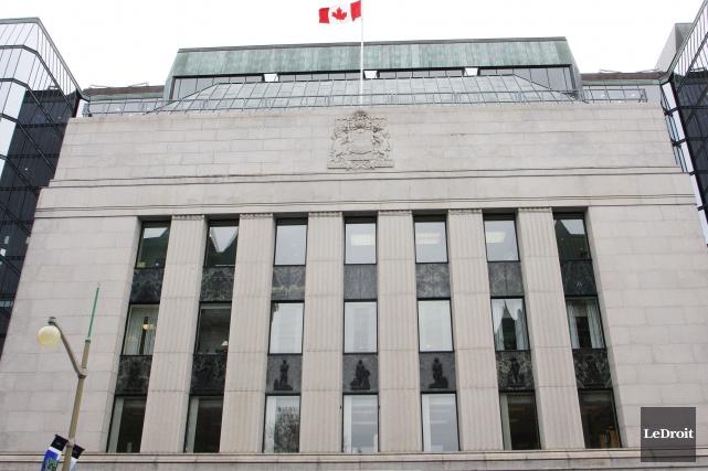 La Banque du Canada a décidé de maintenir son taux directeur à 0,5 pour cent... (Archives Le Droit)