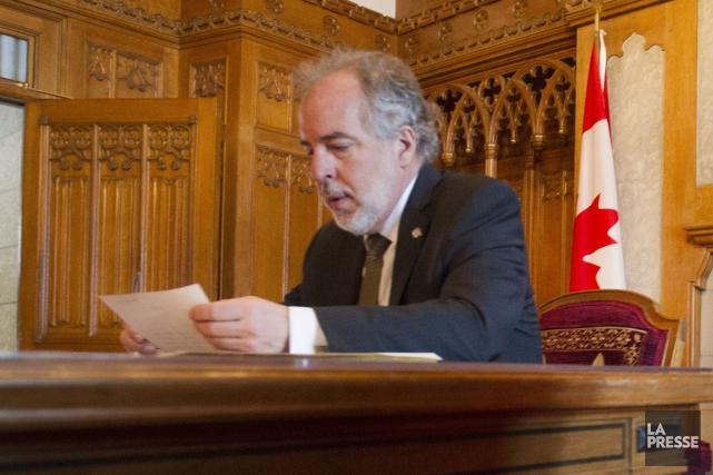 Le chef intérimaire du Bloc québécois,Rhéal Fortin.... (Photo Ivanoh Demers, archives La Presse)