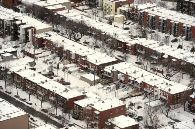 « De 2003 à 2014, 835 logements résidentiels ont... (PHOTO BERNARD BRAULT, ARCHIVES LA PRESSE)