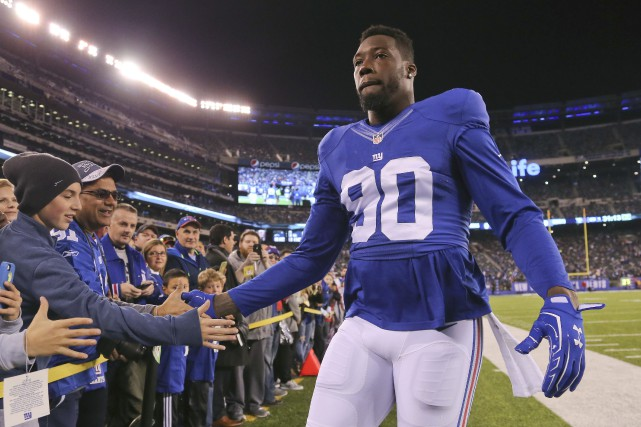 Jason Pierre-Paul... (Photo Seth Wenig, archives AP)