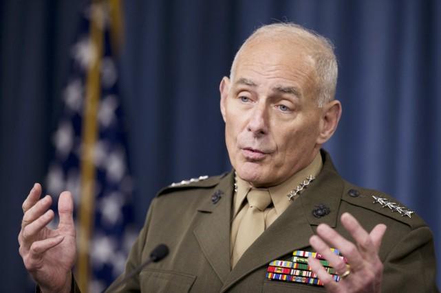 Le général à la retraite John Kelly s'était... (photo Manuel Balce Ceneta, archives AP)