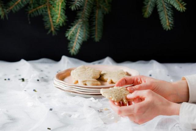 Les biscuits tendres à l'érable sont décorés très... (PHOTO EDOUARD PLANTE-FRÉCHETTE, LA PRESSE)