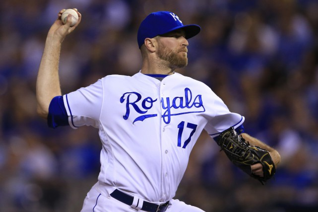 Wade Davis... (Photo Orlin Wagner, archives AP)