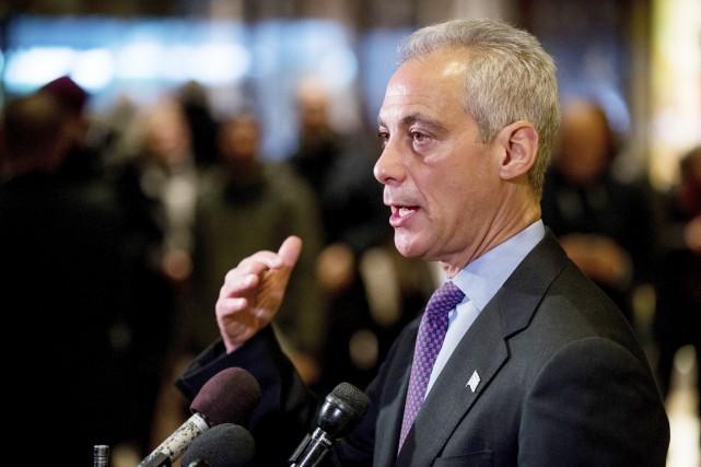 Le maire de Chicago Rham Emanuel, ex-chef de... (photo Andrew Harnik, Associated Press)