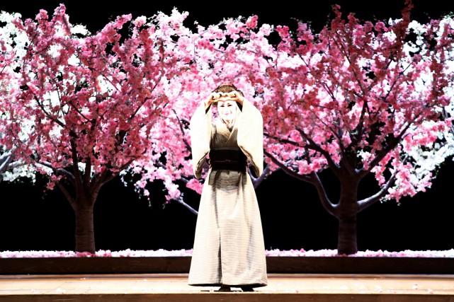 La mezzosoprano italienne Annalisa Stroppa dans une scène... (PHOTO REUTERS)