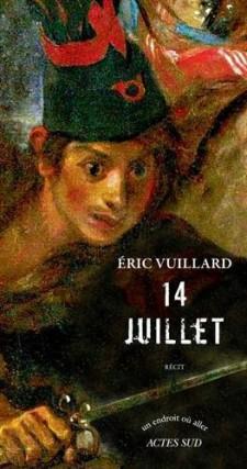14 juillet,d'Éric Vuillard... (Image fournie par Actes Sud)
