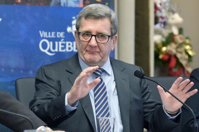 Le maire de Québec, Régis Labeaume, s'est permis... (Le Soleil, Jean-Marie Villeneuve)