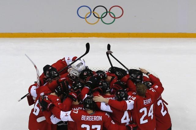 La participation de la LNH aux Jeux olympiques... (PHOTO Mark Blinch, ARCHIVES REUTERS)