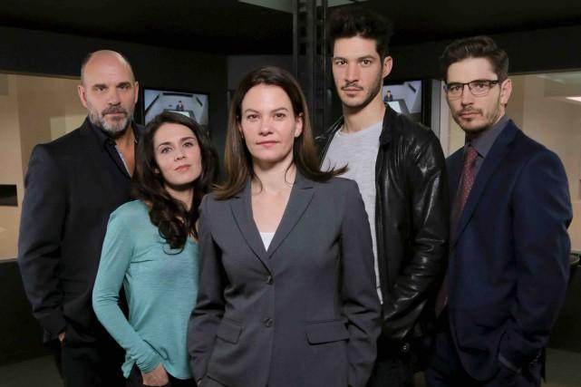 Les acteurs principaux de Mensonges 3: Sylvain Marcel,... (Serge Gauvin)