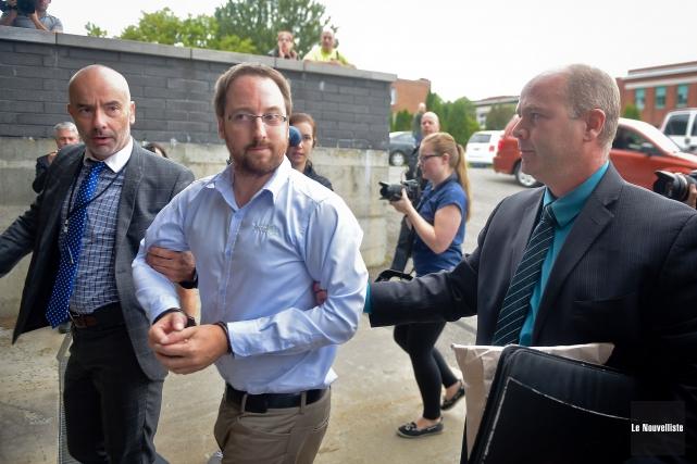 Jonathan Bettez a été arrêté le 29 août... (François Gervais, Le Nouvelliste)