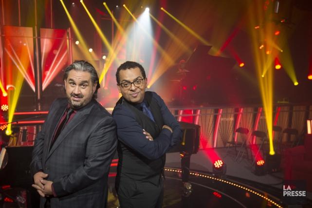Marc Hervieux et Grégory Charles... (La Presse)