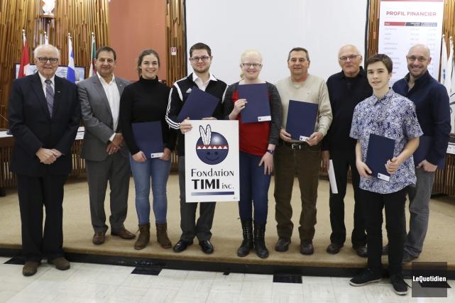 La Fondation Timi a dévoilé les récipiendaires d'un... (Photo Le Quotidien, Yohann Gasse)