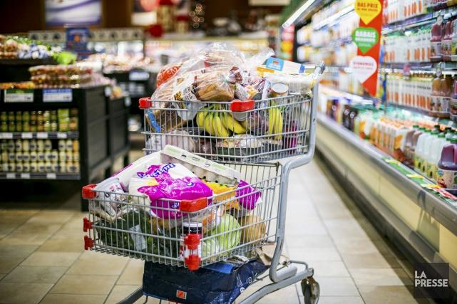ÉDOITORIAL / Le coût des aliments a beaucoup augmenté au cours des dernières... (Archives, La Presse)