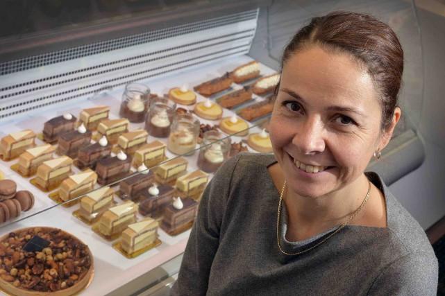 La pâtissière Gaël Vidricaire possède maintenant un lieu... (Le Soleil, Patrice Laroche)