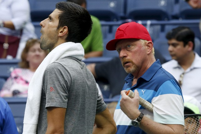Les routes de Novak Djokovic et de son... (Archives AP, Jason DeCrow)