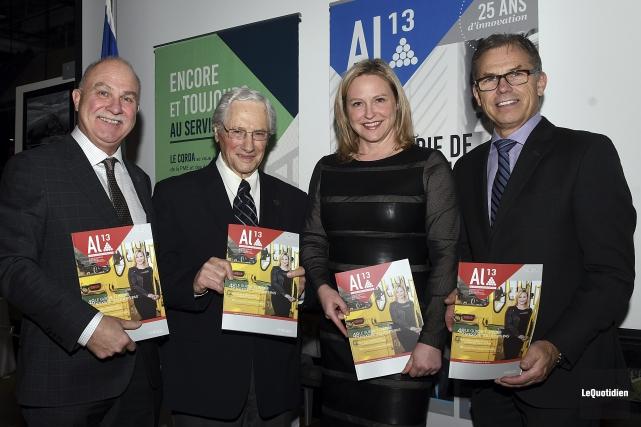 La dernière édition d'AL13 dirigée par le rédacteur... (Photo Le Quotidien, Rocket Lavoie)