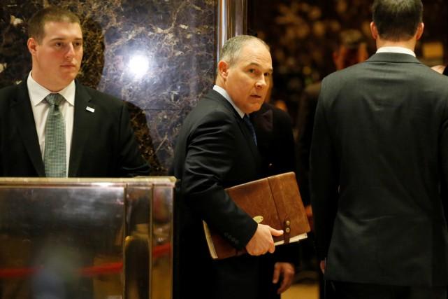 Le nouveau chef de l'Agence de protection de... (PHOTO REUTERS)