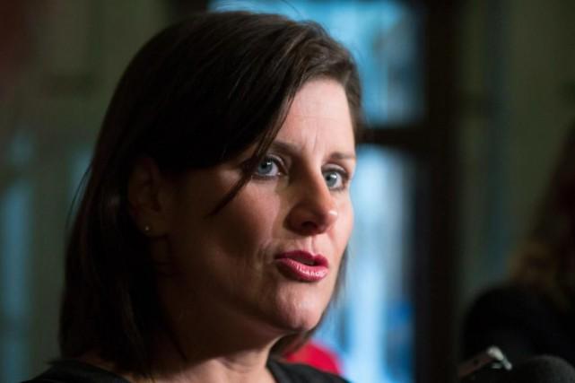 La ministre de la Justice, Stéphanie Vallée, a... (PHOTO JACQUES BOISSINOT, ARCHIVES LA PRESSE CANADIENNE)