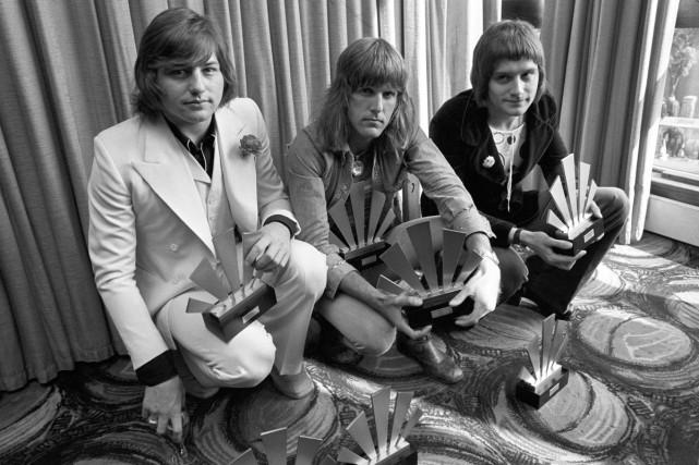 Greg Lake, Keith Emerson et Carl Palmer du... (PHOTO ARCHIVES AP)