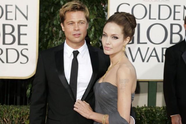 Brad Pitt et Angelina Jolie... (PHOTO ARCHIVES AP)