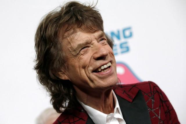 Mick Jagger, 73 ans, est devenu père pour la huitième fois jeudi. Son fils et... (PHOTO REUTERS)