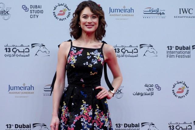 L'actrice Olga Kurylenko est l'une des invitées du... (PHOTO REUTERS)