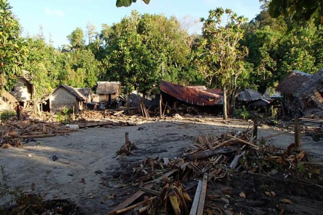 En 2013, l'archipel des Salomon, qui compte une... (PHOTO AFP)