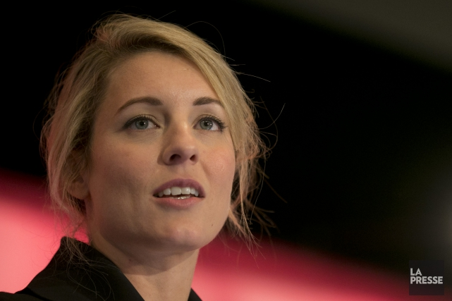 Mélanie Joly... (PHOTO DAVID BOILY, ARCHIVES LA PRESSE)