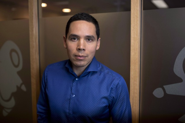 Natan Obed, président de l'organisation nationale Inuit Tapiriit... (THE CANADIAN PRESS)