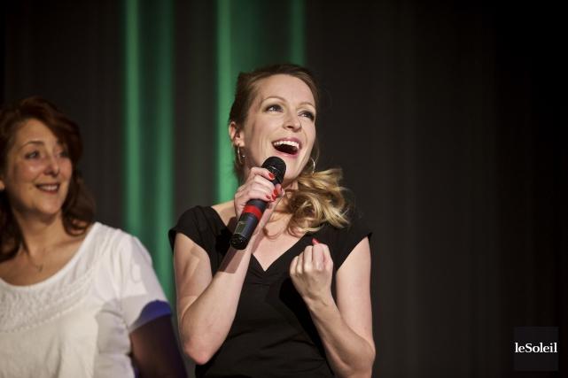 La chanteuse Annie Villeneuve s'est récemment méritée une... (Photothèque Le Soleil)