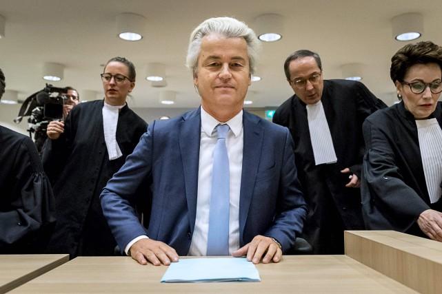 Geert Wilders... (Photo Remko de Waal, AFP)