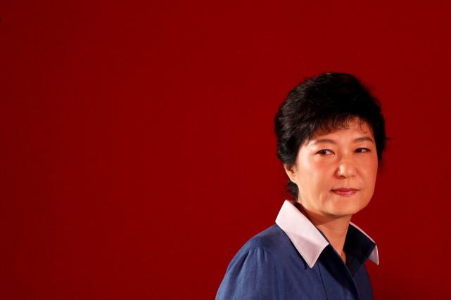 La présidente sud-coréenne Park Geun-Hye... (PHOTO Lee Jae-Won, REUTERS)
