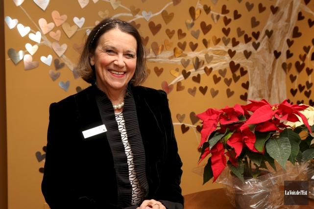 Louise Delorme-Kelly a donné temps et énergie au... (Janick Marois, La Voix de l'Est)