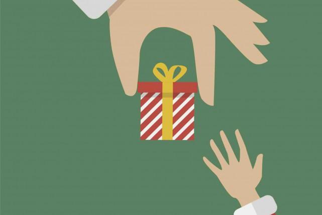 CHRONIQUE / C'est mon cadeau de Noël, je vous offre des biscuits, sauf que vous... (123RF/Sira Anamwong)