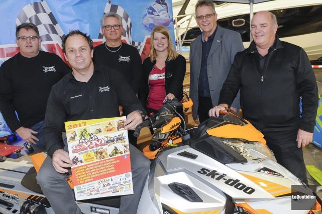 Le vice-président du CVM Saguenay-Lac-Saint-Jean, Sylvain Néron, le... (Photo Le Quotidien, Gimmy Desbiens)