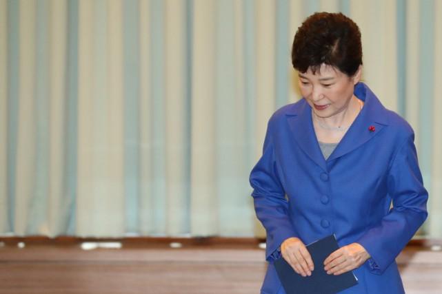 Les députés sud-coréens ont voté la destitution de... (PHOTO ARCHIVES REUTERS)