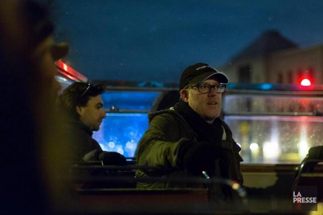 Marc Séguin a assisté hier au dévoilement de... (PHOTO OLIVIER JEAN, LA PRESSE)