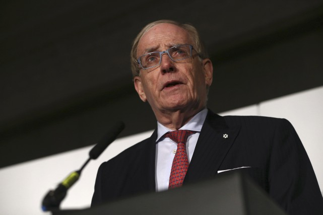 Le juriste canadien Richard McLaren a dévoilé le... (Photo Neil Hall, REUTERS)